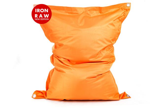 Pouf Géant Extérieur Orange BiG52 IRON RAW