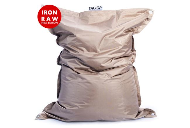 Pouf Géant Extérieur Sable BiG52 IRON RAW