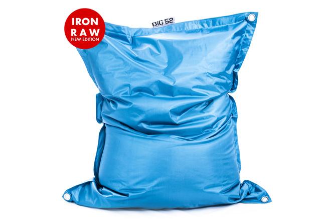 Pouf Géant Extérieur Turquoise BiG52 IRON RAW