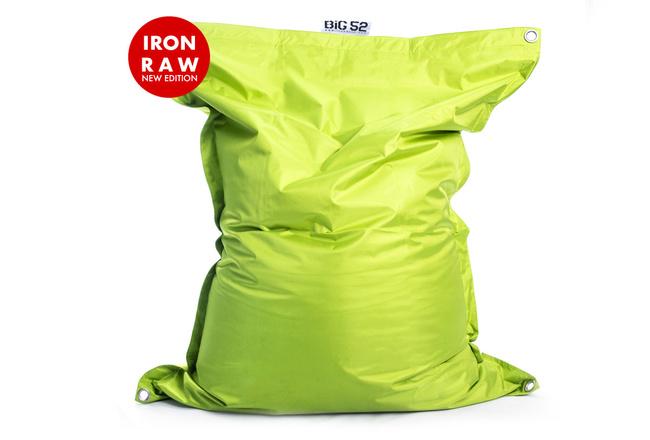 Pouf Géant Extérieur Lime BiG52 IRON RAW