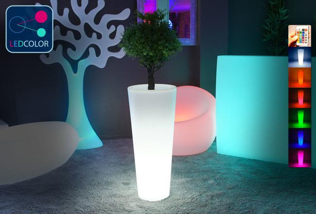 Vase Lumineux à LED Multicolore - ROUND XL