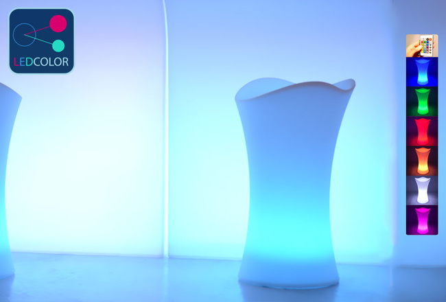 Tabouret Bar Lumineux à LED Multicolore