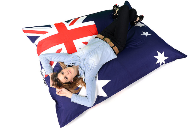 Pouf Géant BiG52 Australia Drapeau Australien