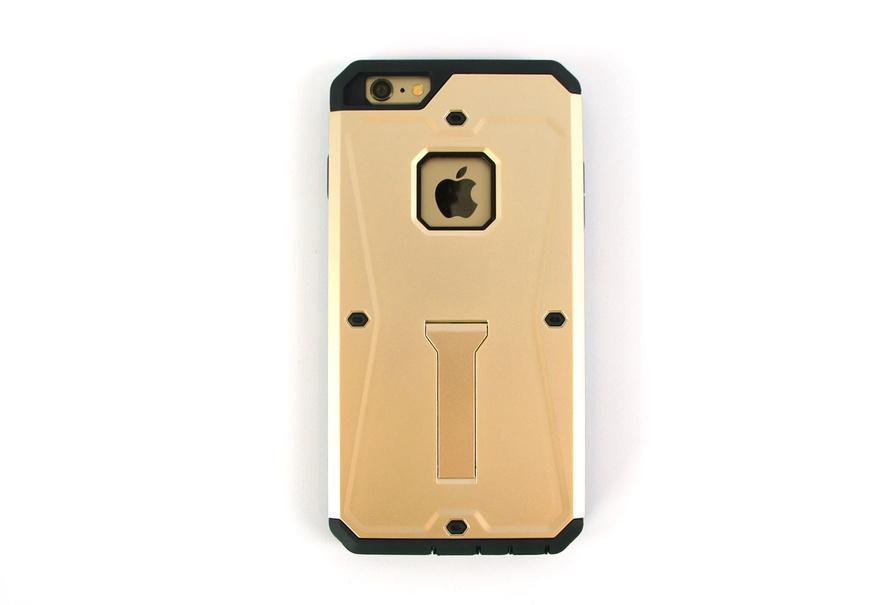 Coque Anti-Choc pour iPhone 6s et iPhone 6s Plus couleur Or ou Gris