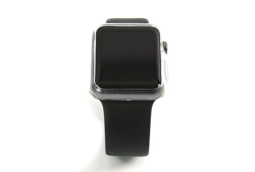 Coque transparente anti-choc souple pour Apple Watch 42 mm et 38 mm