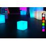 Cube Lumineux à LED Multicolore - 20 cm