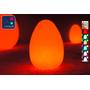 Oeuf Lumineux à LED Multicolore - JAJKO - 42 cm