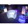 Fauteuil Lumineux à LED Multicolore XL blanc