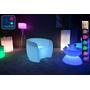 Fauteuil Lumineux à LED Multicolore XL bleu