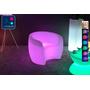 Fauteuil Lumineux à LED Multicolore XL rose