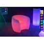 Fauteuil Lumineux à LED Multicolore XL rouge