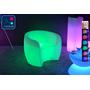 Fauteuil Lumineux à LED Multicolore XL vert