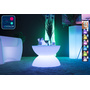 Table basse lumineuse LED Multicolore - FULL MOON
