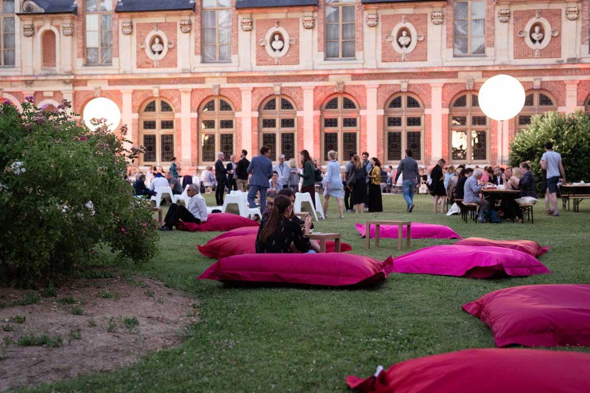 pouf géant extérieur Bi52 Festival Serie Séries