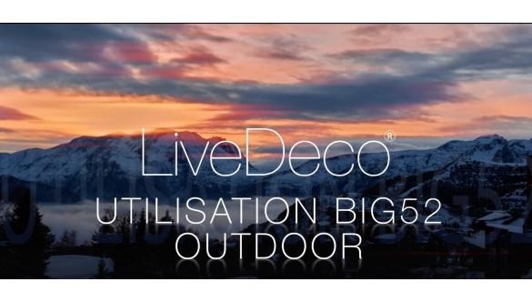 Nos poufs géants BiG52 à l'extérieur en vidéo