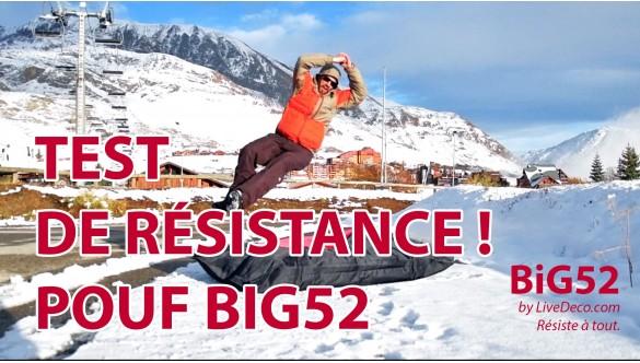 Test de Résistance du Pouf BiG52