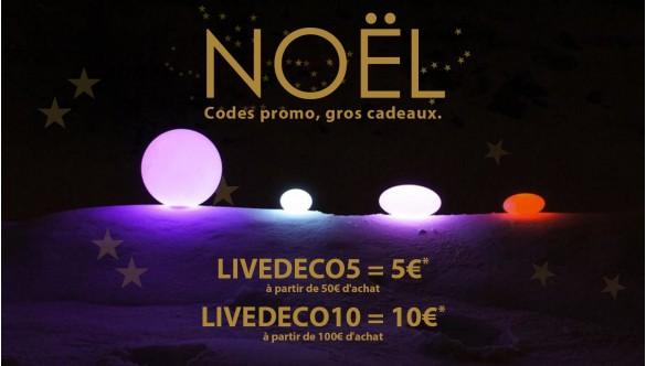 Idées cadeaux et déco pour Noël Black Friday Week - Pouf Géant BiG52 et Mobilier Lumineux LED