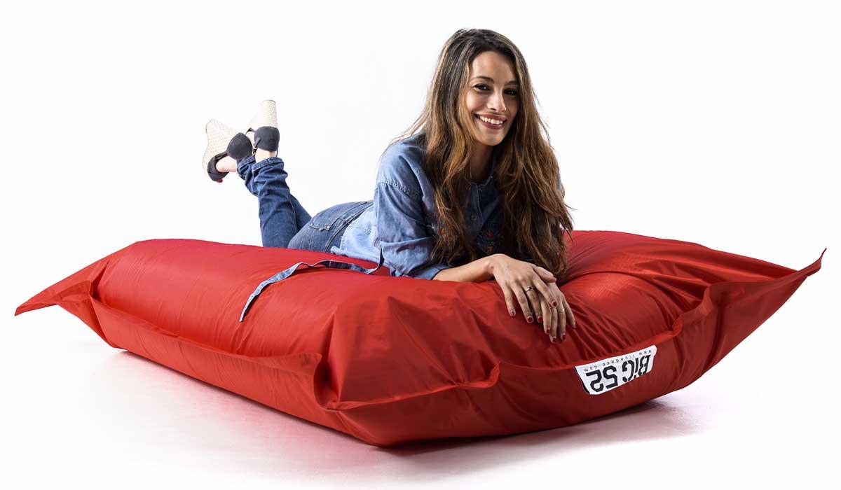 pouf da esterno gigante rosso BiG52 CLASSIC