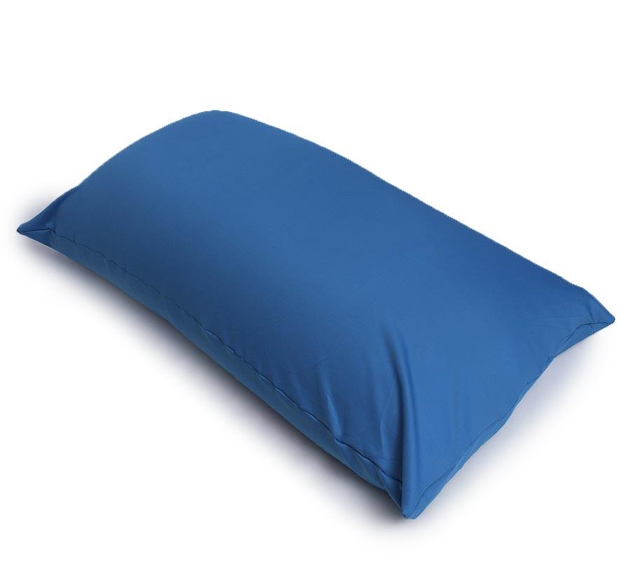Puf elástico gigante azul