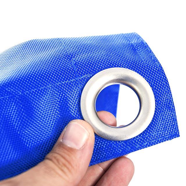 pouf géant extérieur BiG52 IRON RAW bleu