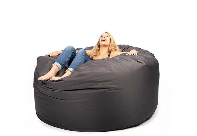 Pouf géant canapé XXXL BiG52 TiTAN Outdoor avec tissu spécial extérieur