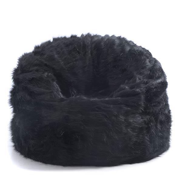 Riesenpuff TiTAN schwarzes Fell