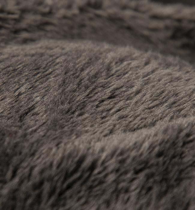 tissu du Pouf Géant XXXL BiG52 TiTAN - Polaire Gris