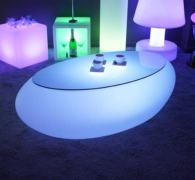 Table Basse Lumineuse