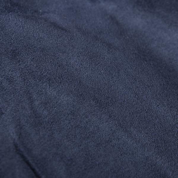 pouf géant bleu marine TiTAN est en microsuede
