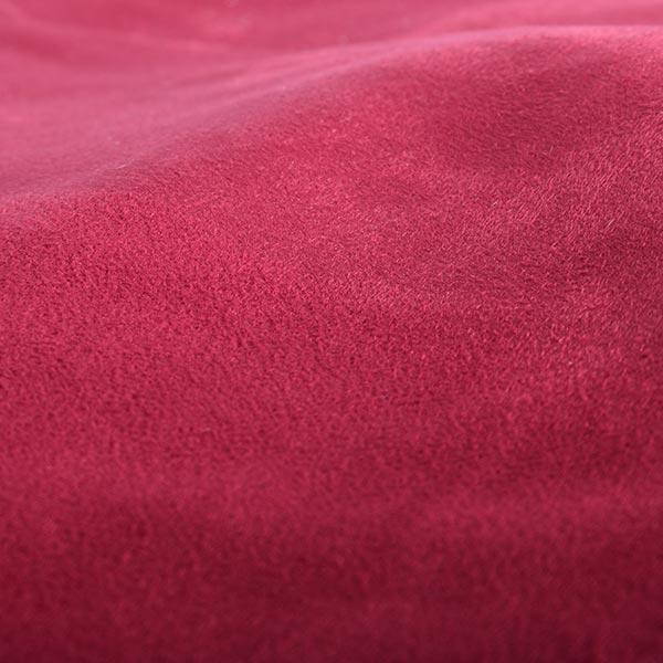 pouf géant rouge TiTAN est en microsuede