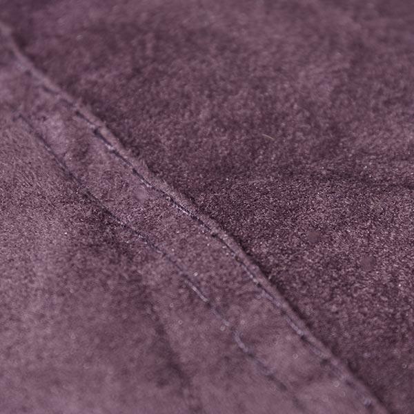pouf géant violet TiTAN est en microsuede